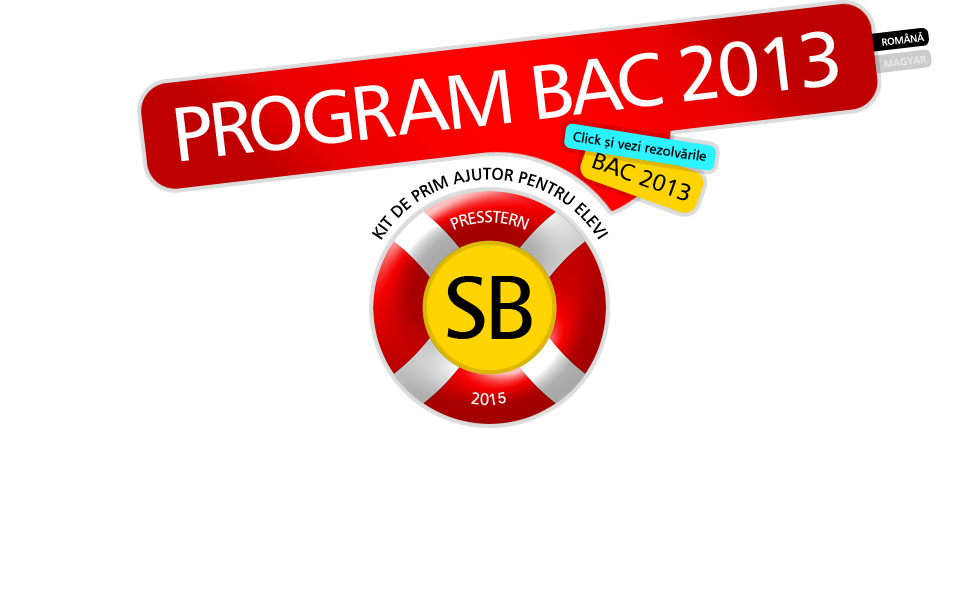 Program Bac 2013 (edu.ro)